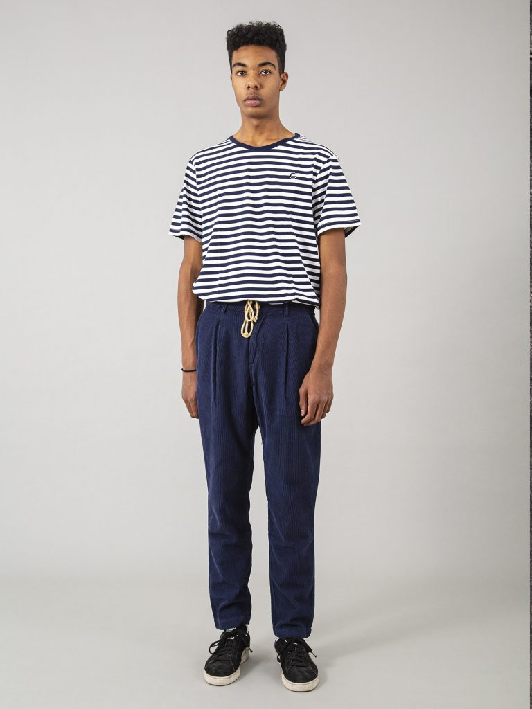 Terauchi Blue Regular Corduroy Capitan denim