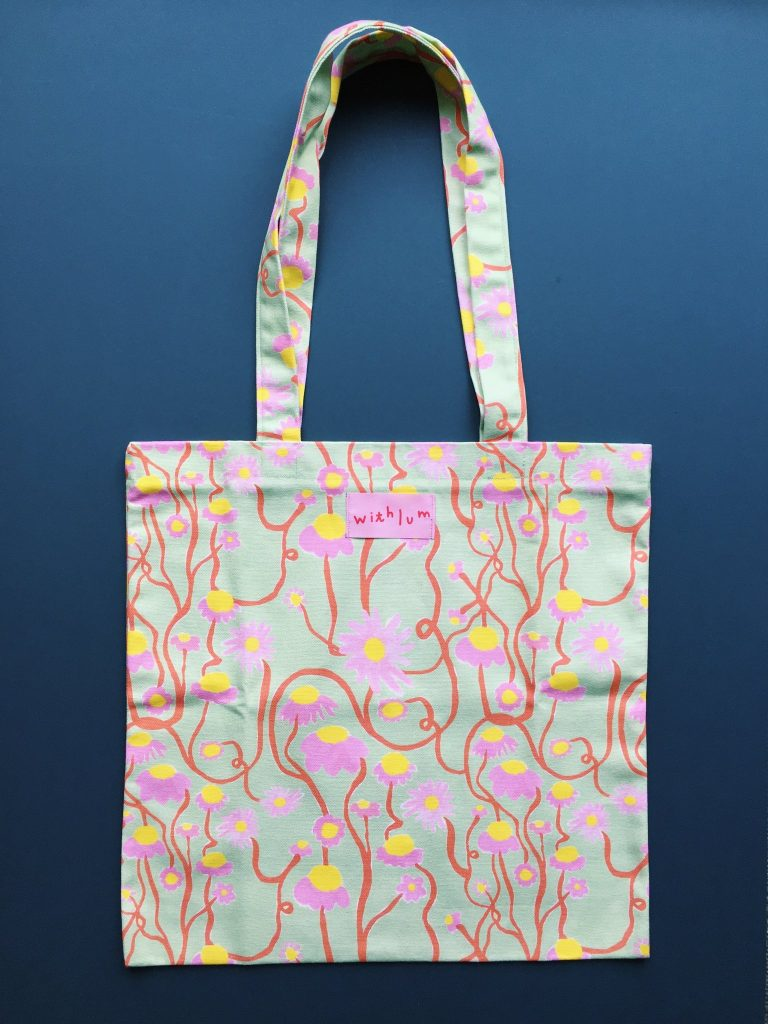 Tote bag Margarita withlum