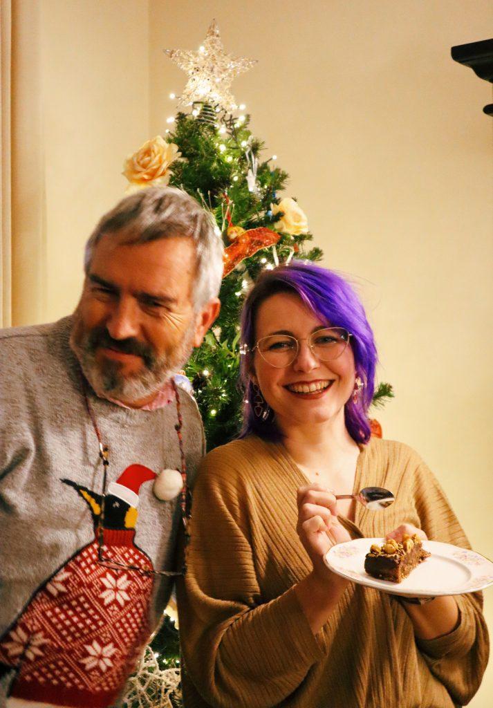 Papa y Laura Navidades 2020 2