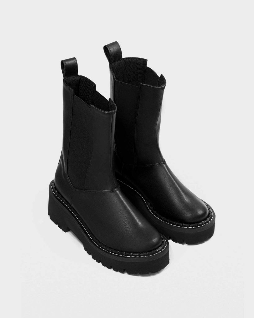 Chelsea Riot cactus leather boots