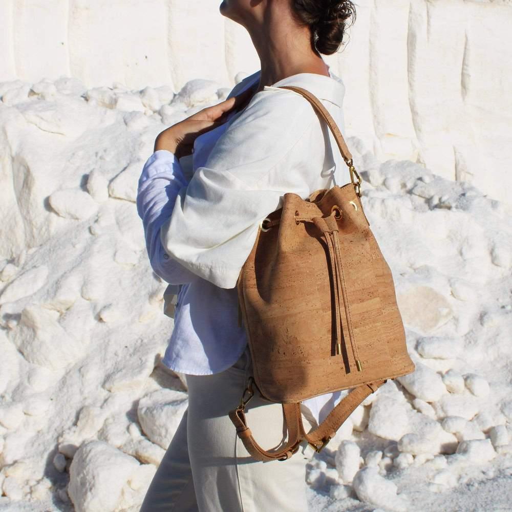 IMMACULATE VEGAN Cork Backpack