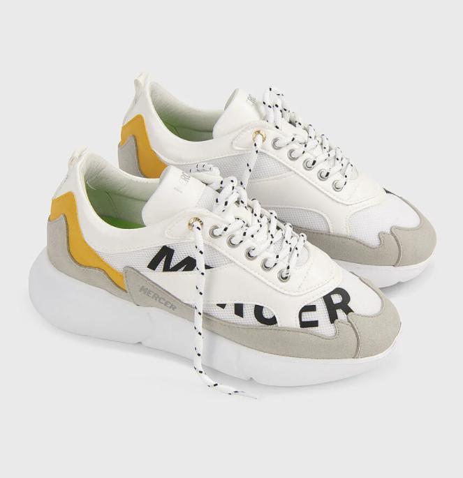 Mercer Amsterdam Sneakers Grape Leather