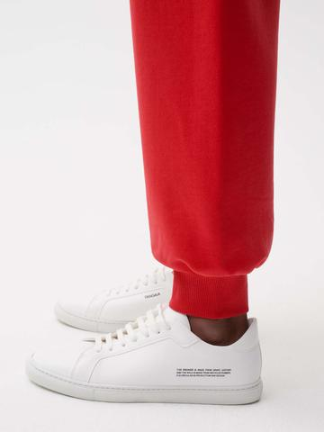 The Pangaia Mens grape leather sneakers